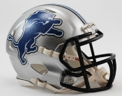 Detroit Lions Speed Replica Mini Helmet Riddell