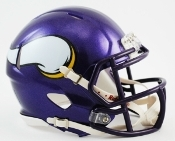 Minnesota Vikings Speed Replica Mini Helmet Riddell