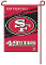 "San Francisco 49ers 11""x15"" Color Garden Yard Lawn Flag"