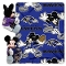 "Baltimore Ravens 40""x50"" Disney Hugger Fleece Throw Blanket"