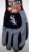 Chicago White Sox Two Toned Utility Gloves 2012