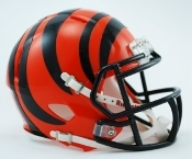 Cincinnati Bengals Speed Replica Mini Helmet Riddell