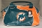 Miami Dolphins Perfect Bowler Handbag Purse Personal Organizer