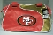 San Francisco 49ers Perfect Bowler Handbag Purse Organizer