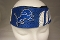 Detroit Lions Fanband Jersey Style Elastic Headband Hairband