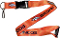 "Denver Broncos NFL Breakaway Lanyard Key Chain Ring 36"" Long"