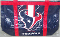 Houston Texans Canvas Tailgate Tote Bag Purse