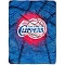 "Los Angeles Clippers 60""x80"" Plush Raschel Throw Blanket"