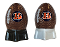 Cincinnati Bengals NFL Salt and Pepper Shakers Ceramic