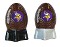 Minnesota Vikings NFL Salt and Pepper Shakers Ceramic