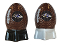 Baltimore Ravens NFL Salt and Pepper Shakers Ceramic