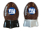 New York Giants NFL Salt and Pepper Shakers Ceramic