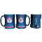 Texas Rangers MLB 15 oz Sculpted Relief Mug Coffee Cup
