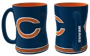 Chicago Bears NFL 15 oz Sculpted Relief Mug Coffee Cup