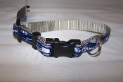 Seattle Seahawks NFL Team Logo Dog Collar Snap Close