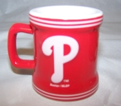 Philadelphia Phillies 2 oz Mini Sculpted Mini Mug Shot Glass