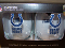 Indianapolis Colts 16 oz Curved Beverage Stemless Wine Glasses