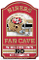 "San Fransisco 49ers 11""x17"" Wood Sign Fan Cave Design"
