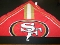 San Francisco 49ers NFL Fandana Bandana Hair Wear Headhand