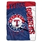 "Texas Rangers 60""x80"" Plush Raschel Throw Blanket"