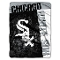 "Chicago White Sox 60""x80"" Plush Raschel Throw Blanket"