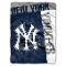 "New York Yankees 60""x80"" Plush Raschel Throw Blanket"