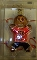 "Cincinnati Bengals 3"" Gingerbread Man Ornament"