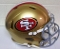San Francisco 49ers NFL Full Size Helmet Replica Riddell Speed