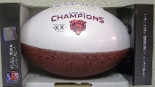 Chicago Bears Super Bowl Champs on the Fifty Football