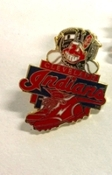 Cleveland Indians MLB Team Lapel Pin Chief Wahoo - version #1