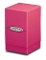 Satin Tower Deck Box Bright Pink Gaming Metallic Ultra Pro (1)