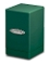 Satin Tower Deck Box Green MTG Gaming Metallic Ultra Pro (1)