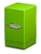 Satin Tower Deck Box Lime Green Gaming Metallic Ultra Pro (1)