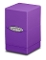 Satin Tower Deck Box Purple MTG Gaming Metallic Ultra Pro (1)
