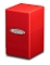 Satin Tower Deck Box Red MTG Gaming Metallic Ultra Pro (1)