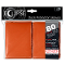 Deck Protector Sleeves Eclipse Matte Orange Ultra Pro Pack (80)