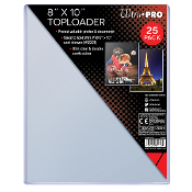 "8.5""x11"" Photo Topload Holders Ultra Pro Brand Pack (25)"