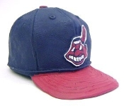 Cleveland Indians MLB Ceramic Mini Baseball Hat Cap Chief Wahoo